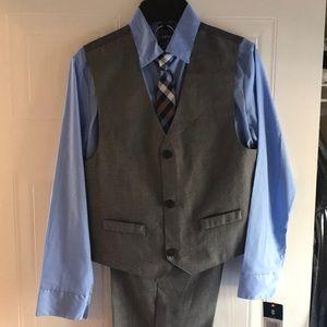 Boys suit with vest